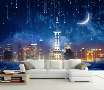 New York Night Views Wallpaper AJ Wallpaper 2