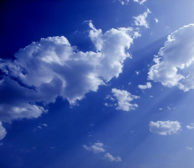 Floating White Clouds 1 Wallpaper AJ Wallpaper