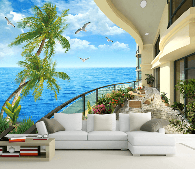 Balcony Beautiful Ocean - AJ Walls - 1