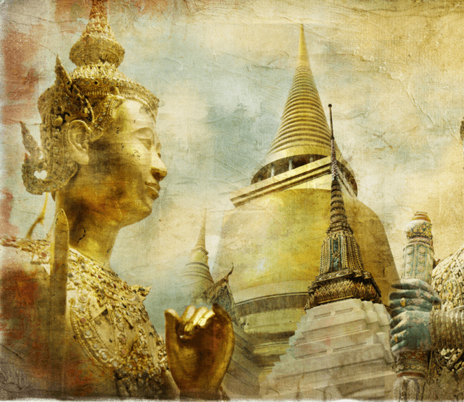 Buddhist Art Wallpaper AJ Wallpaper