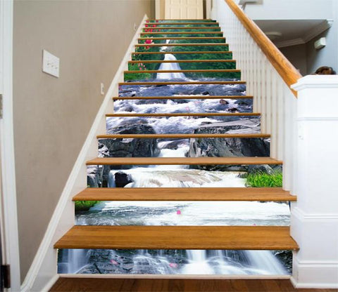 3D Mountain Stony River 82 Stair Risers