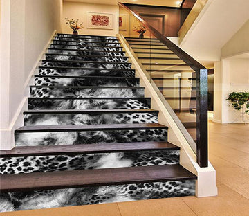 3D Animal Feather Pattern 1140 Stair Risers Wallpaper AJ Wallpaper