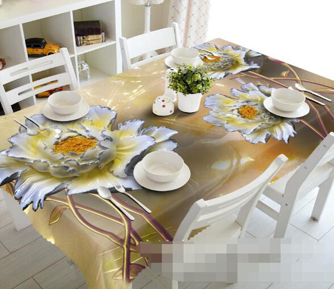 3D Art Flowers 1092 Tablecloths