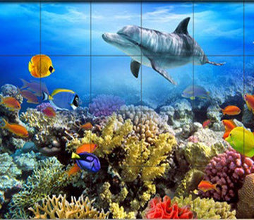 3D Coral Sea 006 Wallpaper AJ Wallpaper