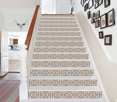 3D Elegant Patterns 610 Stair Risers