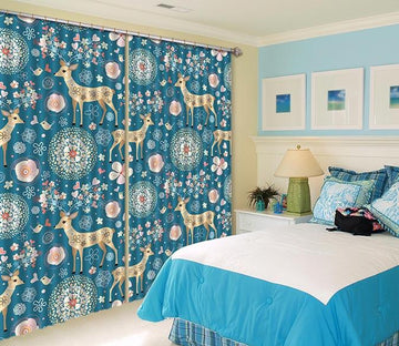 3D Animal Pattern 385 Curtains Drapes Wallpaper AJ Wallpaper