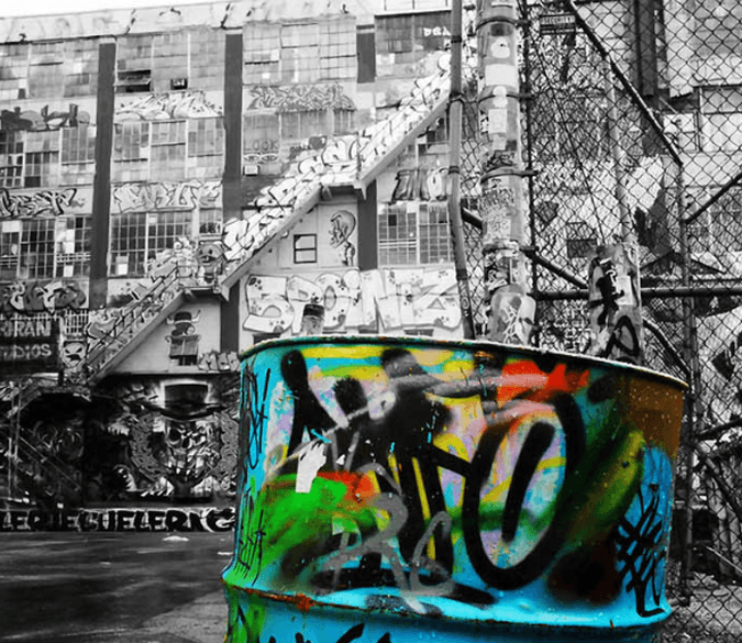 Barrel Graffiti - AJ Walls - 1