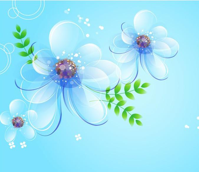 Transparent Petals Wallpaper AJ Wallpaper