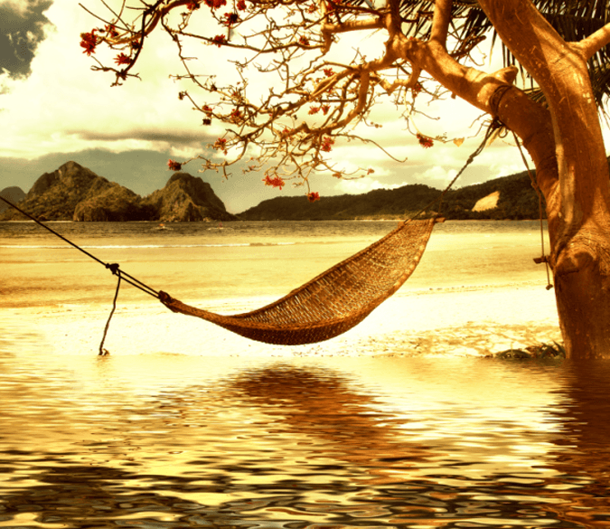 Hammock Wallpaper AJ Wallpaper