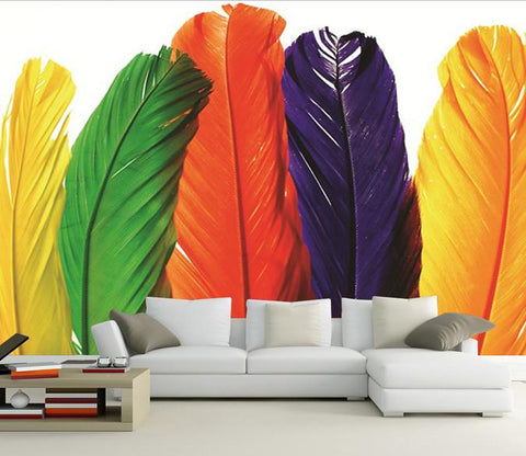 Colorful Feathers 1 - AJ Walls - 1