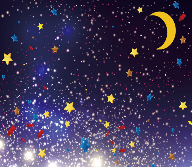 Pretty Stars Sky Wallpaper AJ Wallpaper 2