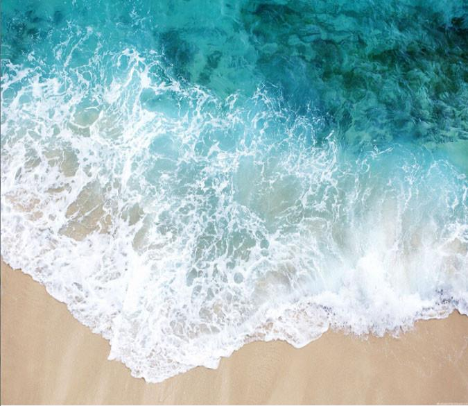 Beach Beautiful Waves Wallpaper AJ Wallpaper