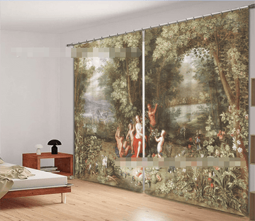 3D Ancients 921 Curtains Drapes Wallpaper AJ Wallpaper