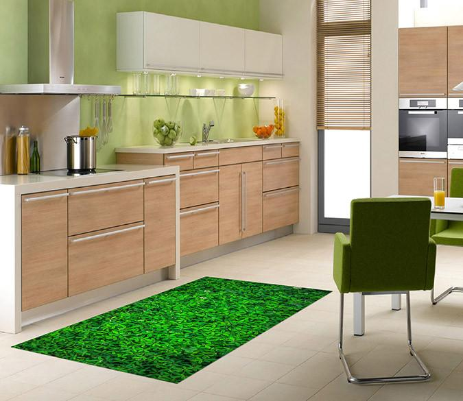 3D Beautiful Green Plants 572 Kitchen Mat Floor Mural