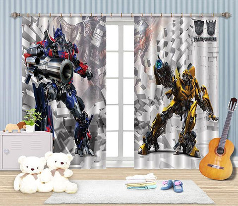 3D Cartoon For Boys 2482 Curtains Drapes