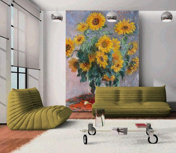 Sunflowers Vase Painting - AJ Walls - 1