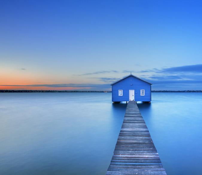Sea Wooden Cabin - AJ Walls - 1