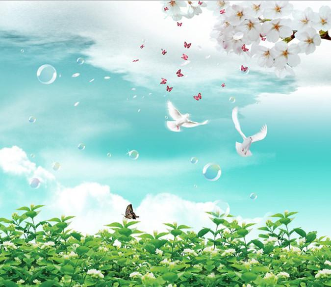 Flying Birds 1 Wallpaper AJ Wallpaper