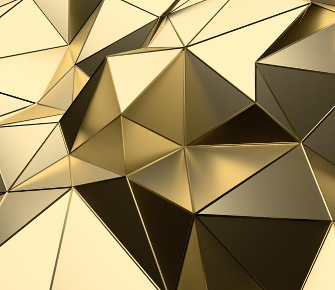 Irregular Polyhedrons Wallpaper AJ Wallpaper