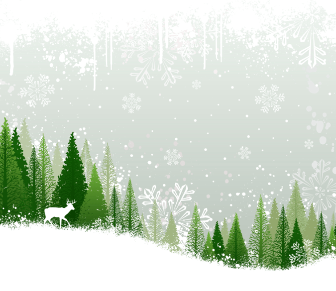 Snowing Forest Wallpaper AJ Wallpaper