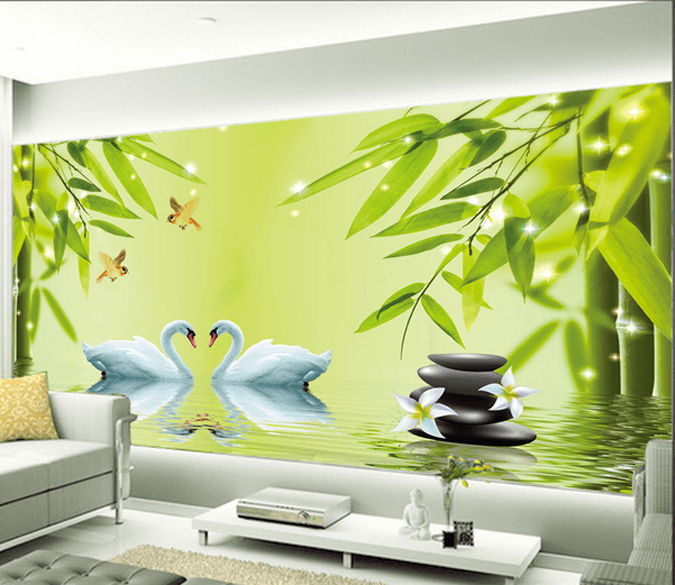 Bamboos Lake Scenery - AJ Walls - 1