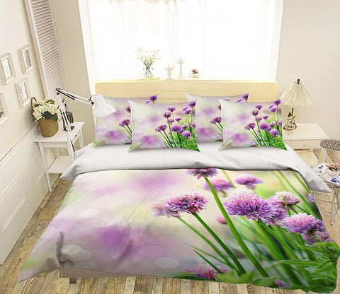 3D Pretty Flowers 356 Bed Pillowcases Quilt