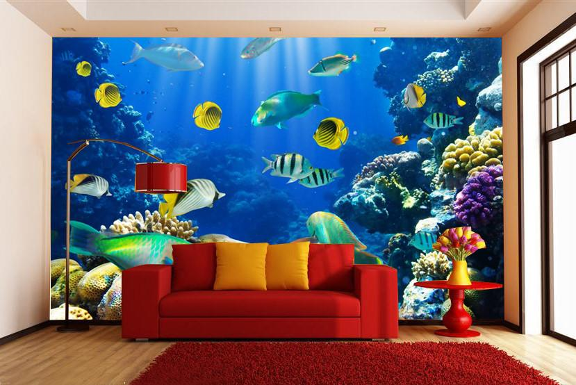 Colorful Fishes Wallpaper AJ Wallpaper