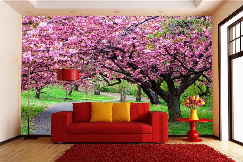 Blooming Peach Trees 1 - AJ Walls - 2