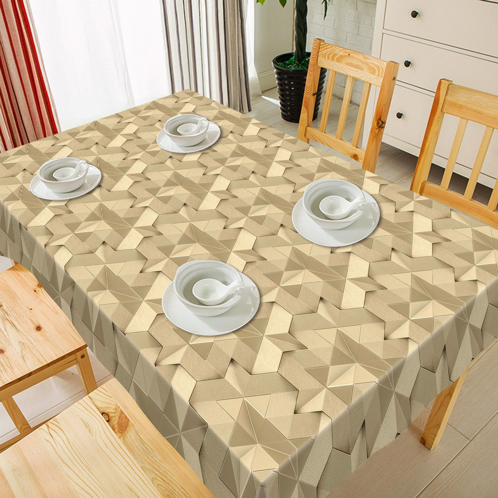 3D Stitching Irregular Patterns 79 Tablecloths Wallpaper AJ Wallpaper