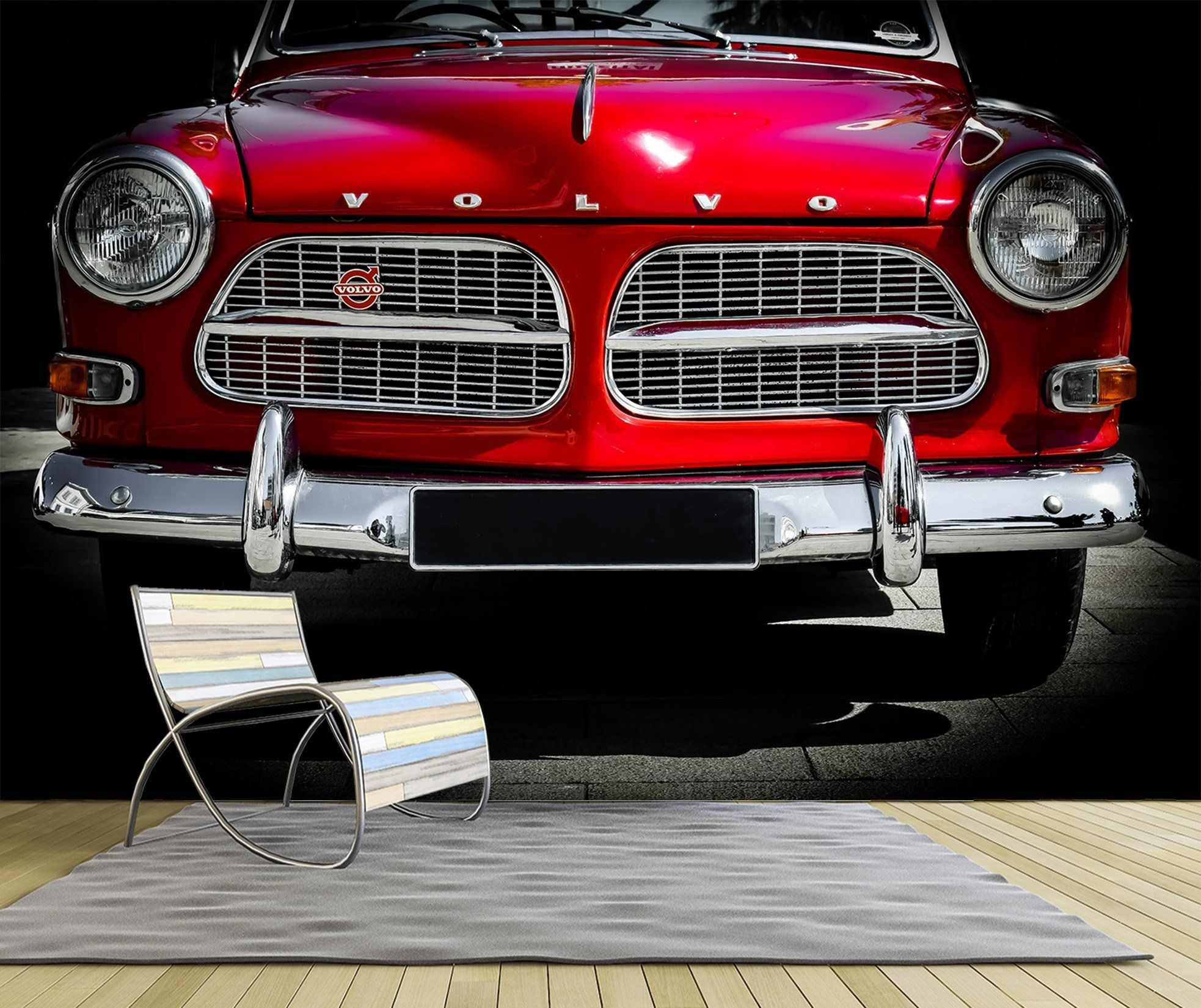 3D Car 969 Vehicle Wall Murals Wallpaper AJ Wallpaper 2