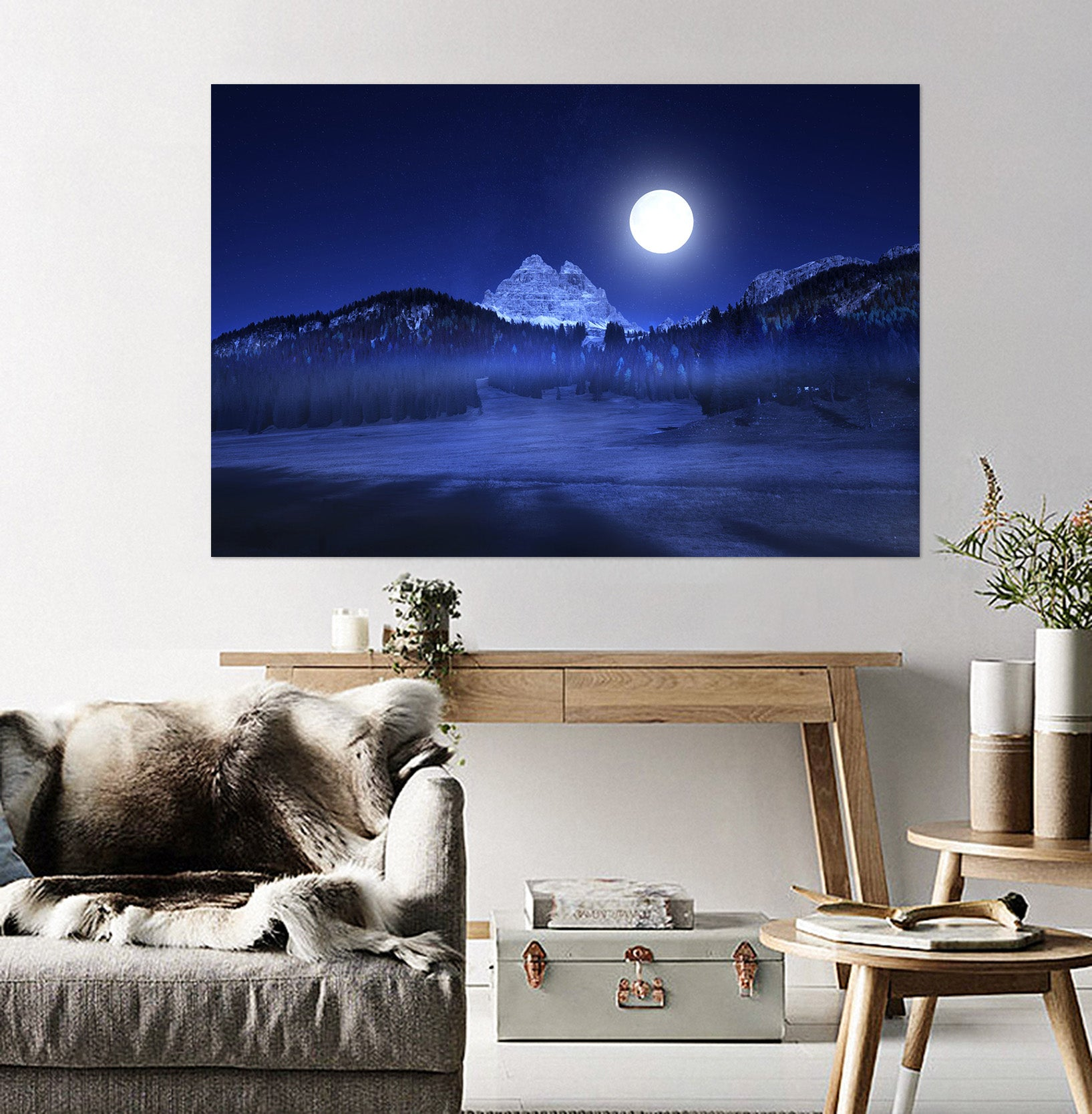 3D Silent Valley 217 Marco Carmassi Wall Sticker