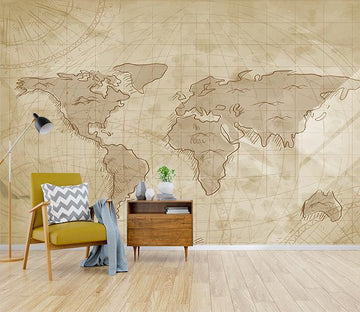 3D Earth Map 018 Wallpaper AJ Wallpaper