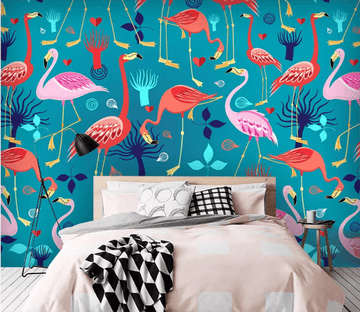 3D Flamingo Group 1325