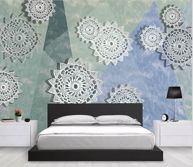 3D Paper Cutting Lace 1532 Wallpaper AJ Wallpaper 2