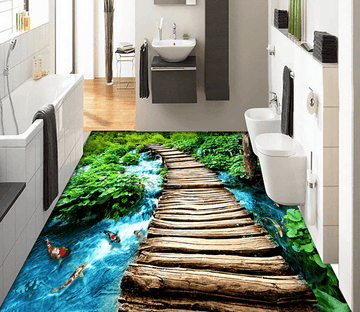 3D Boundless 006 Floor Mural Wallpaper AJ Wallpaper 2