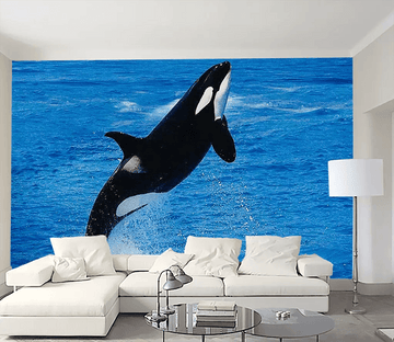 3D Killer Whale Jumping 1383 Wallpaper AJ Wallpaper 2