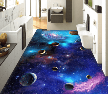 3D Interstellar 102 Floor Mural Wallpaper AJ Wallpaper 2