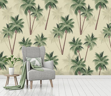 3D Coconut Tree Shadow 251