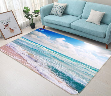 3D Sky Beach 629 Non Slip Rug Mat Mat AJ Creativity Home