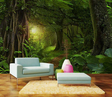 3D Deep Forest 664 Wallpaper AJ Wallpaper