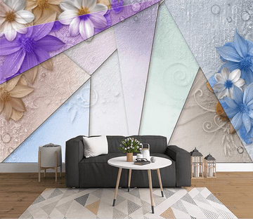 3D Triangle Flower 1505