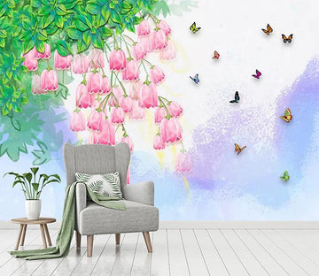 3D Green Leaf Butterfly 480