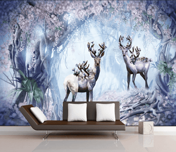 3D Beautiful Deer 514 Wallpaper AJ Wallpaper