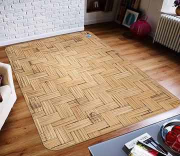 3D Bamboo Edit 151 Non Slip Rug Mat Mat AJ Creativity Home