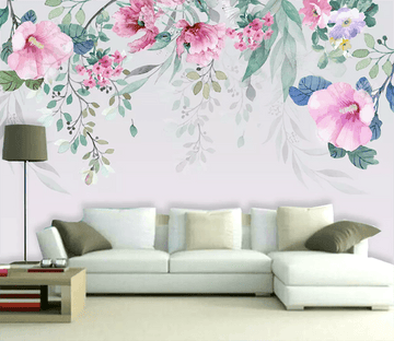 3D Hand Painted Flower 1553 Wallpaper AJ Wallpaper 2