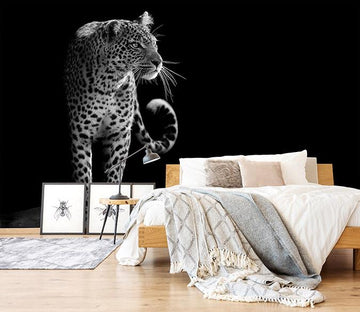 3D Big Leopard 005 Wallpaper AJ Wallpaper
