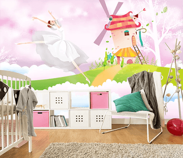 3D Windmill Dancing 1124 Wallpaper AJ Wallpaper 2