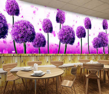 3D Big Purple Flower 775 Wallpaper AJ Wallpaper