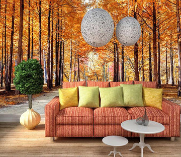 3D Autumn Maple 174 Wallpaper AJ Wallpaper