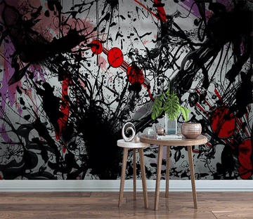3D Abstract Sprinkling Ink 1229 Wallpaper AJ Wallpaper 2